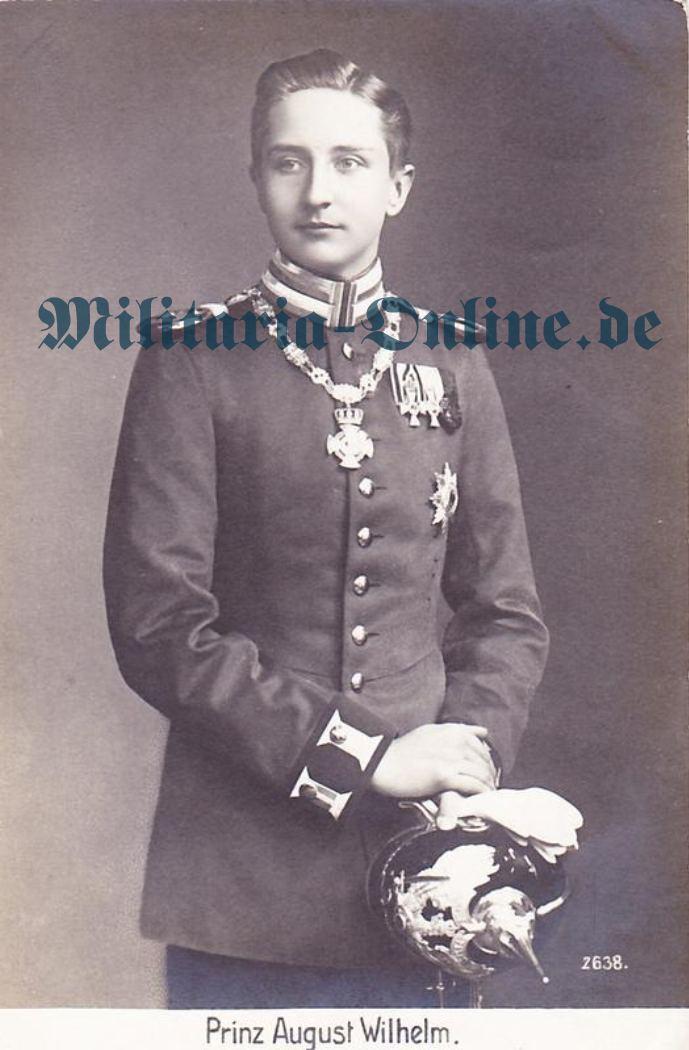 Postkarte Preussen 1 Garde Regt. z. F.