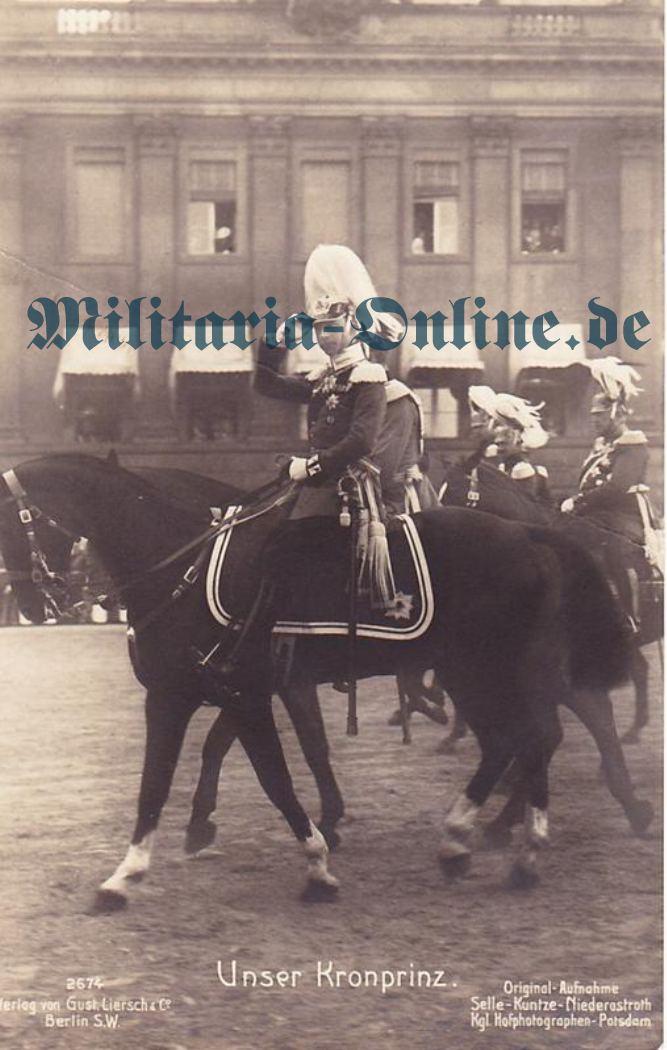 Postkarte Preussen 1 Garde Rgt. z.F.