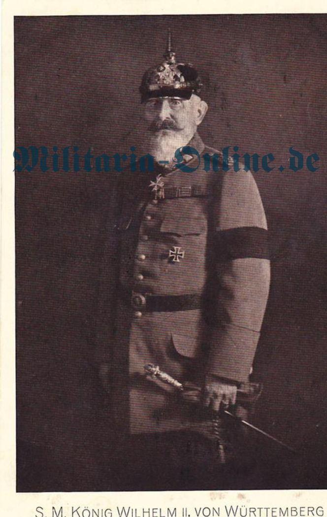 Postkarte Württemberg