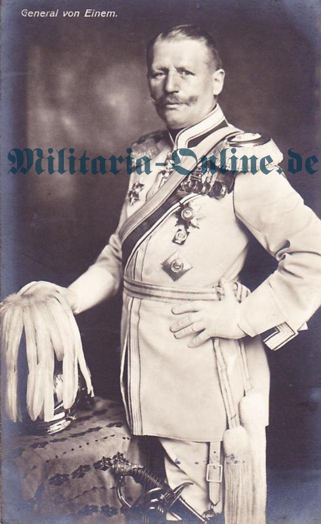 Postkarte Preussen Kürassier General
