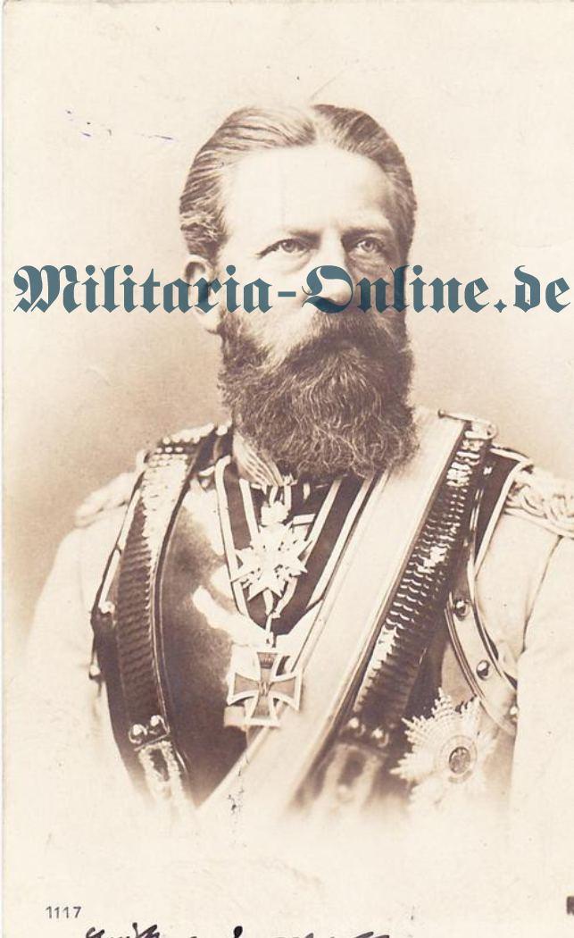 Postkarte Preussen Kürassier