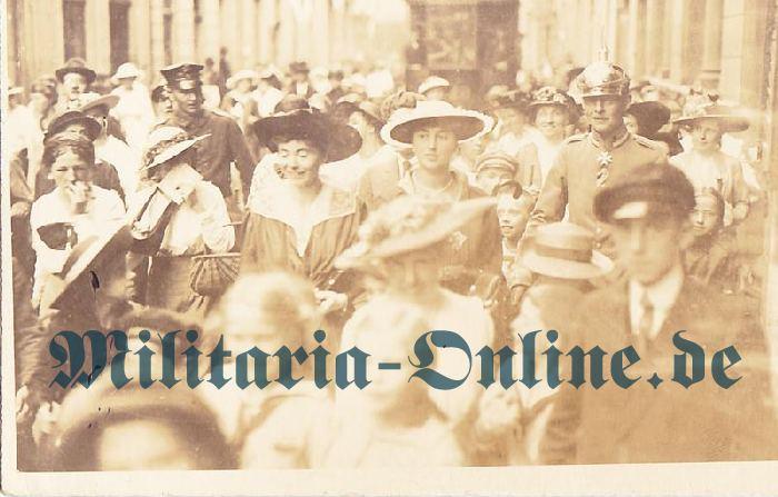 Postkarte Preussen Garde Kürassier