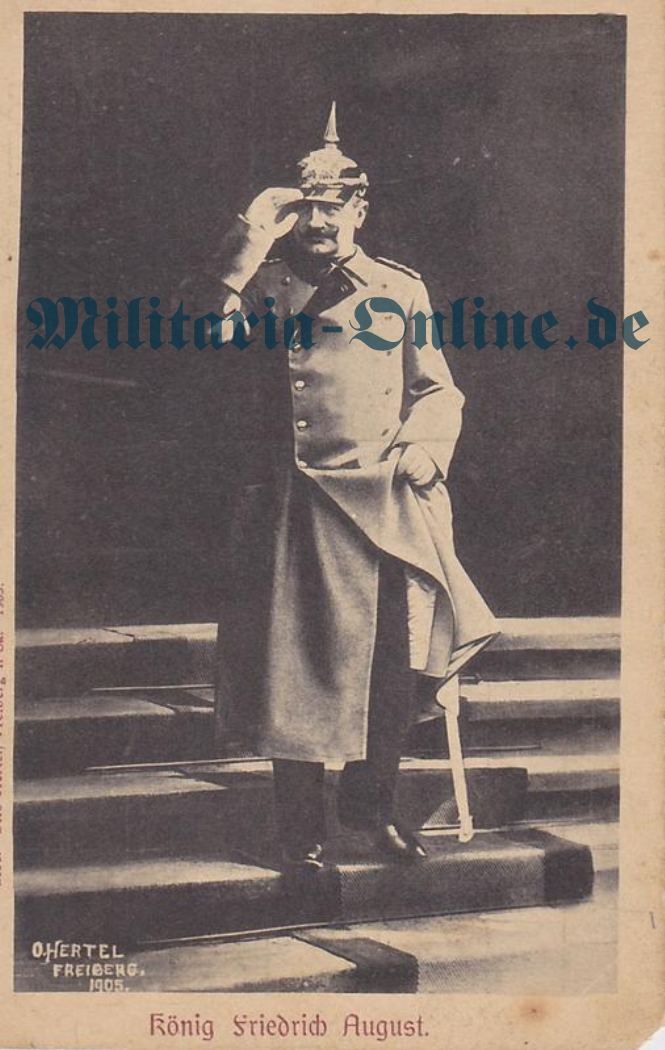 Sachsen König Friedrich August