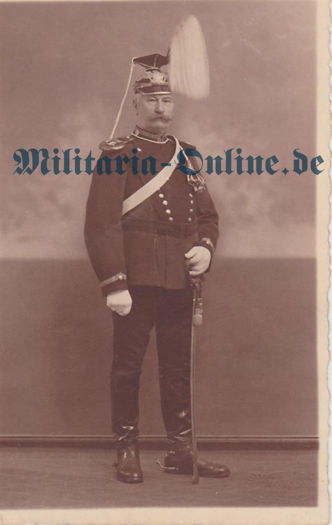 Preussen Postkarte Ulanen
