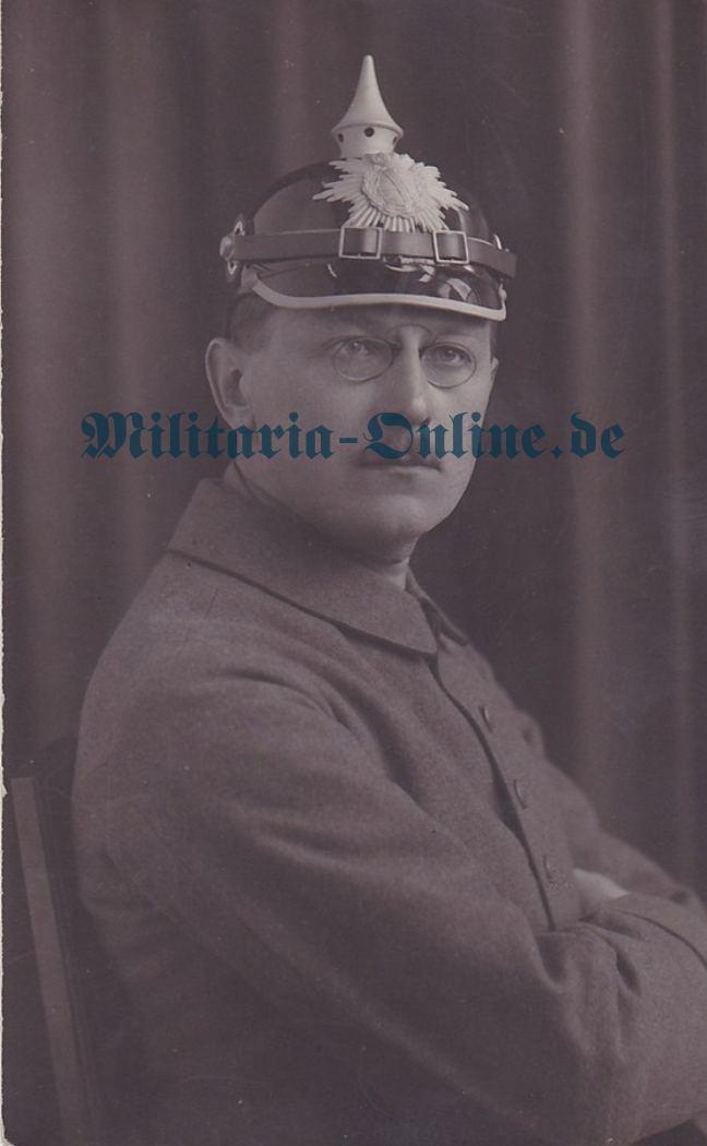 Sachsen I WK Postkarte