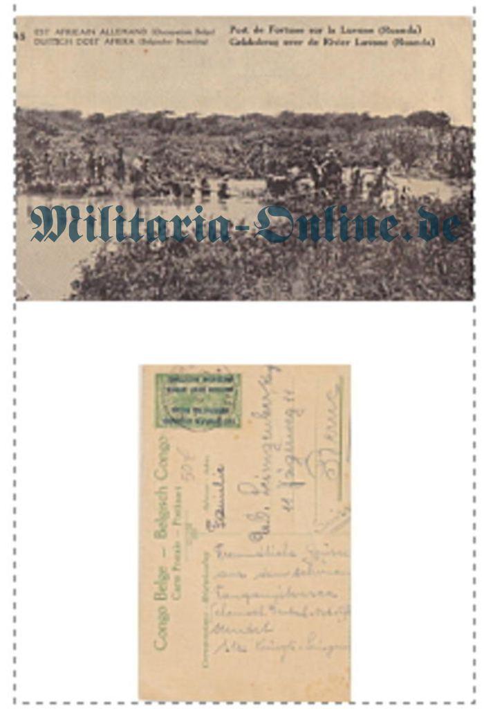 Postkarte Ostafrika