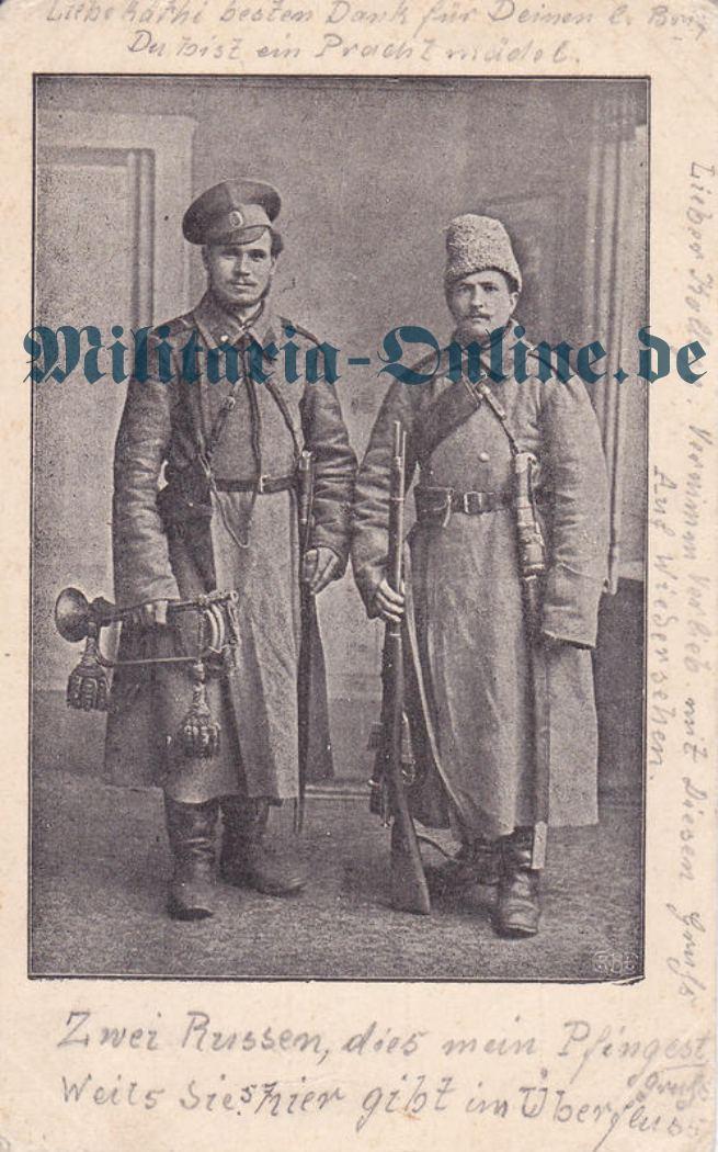 Russland 1 Postkarte