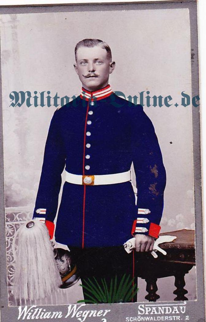 CDV Preussen Garde zu Fuss