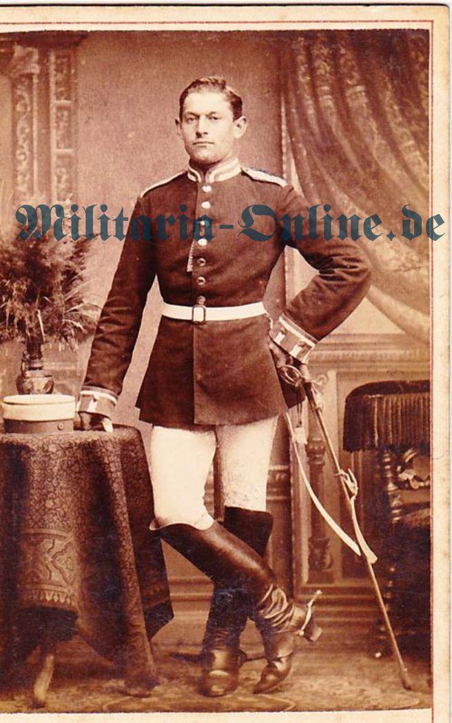 CDV Preussen Kürassier 1870