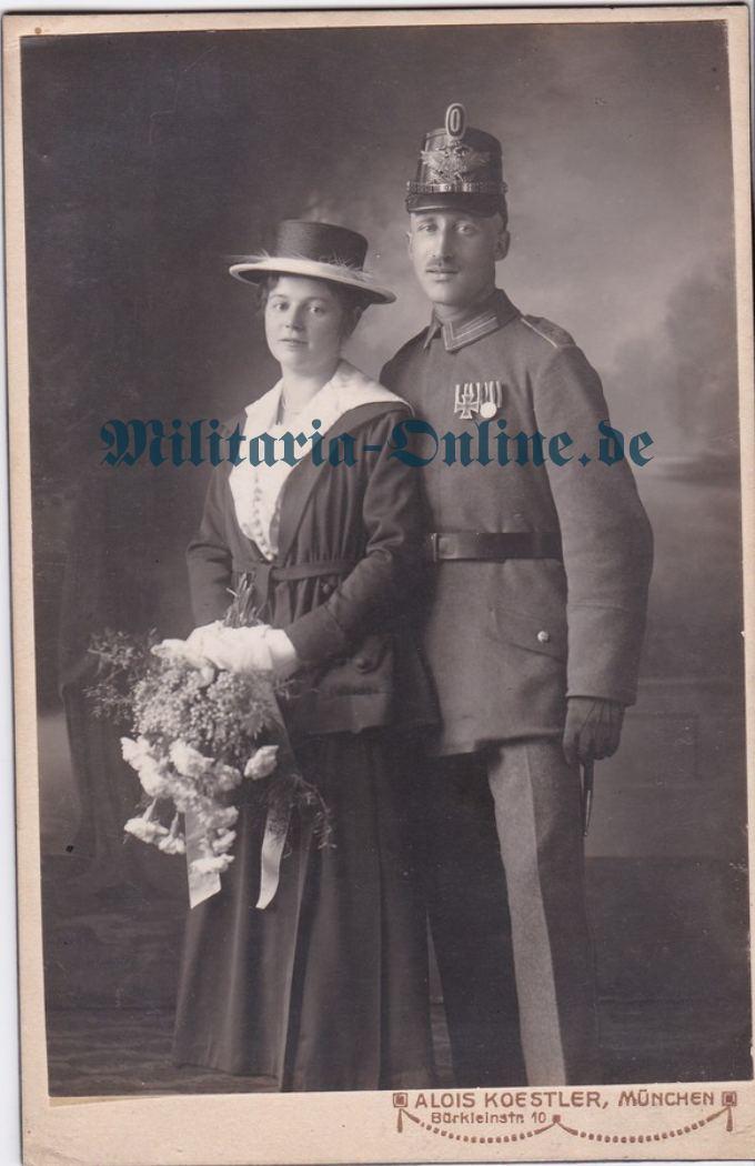 Deutsches Reich Marine Inf. Karton Foto