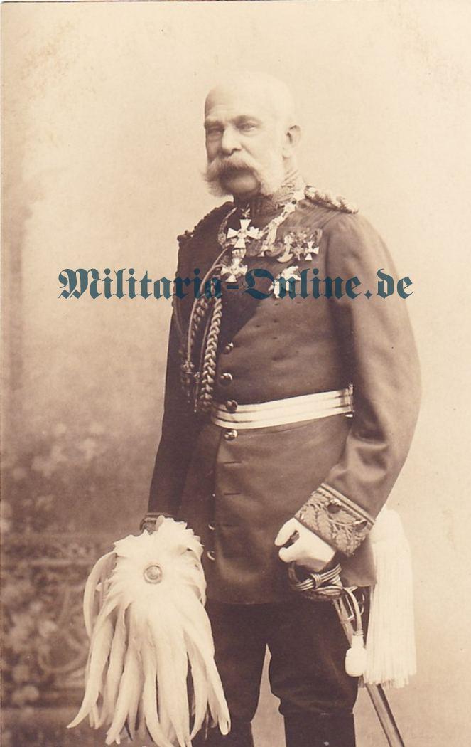 Ãsterreich Postkarte Kaiser